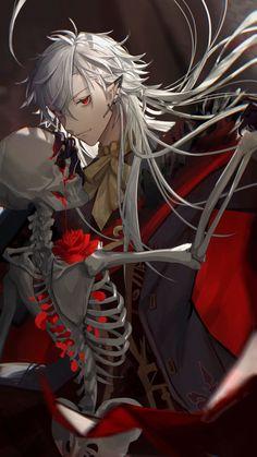 Anime Demon Boy, Anime Devil, Dark Anime Guys, Cool Anime Guys, Hot Anime Boy, Handsome Anime Guys, Anime Love, Chica Anime Manga, Anime Chibi