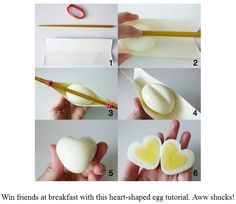 The girls love boiled eggs. gonna have to do this for breakfast on Valentines! The girls love boiled eggs. gonna have to do this for breakfast on Valentines! The girls love boiled eggs. gonna have to do this for breakfast on Valentines! Cute Food, Good Food, Yummy Food, Party Hacks, Party Ideas, Brunch Menu, Brunch Party, Snacks Für Party, Party Appetizers
