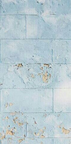 Weathered blue wall