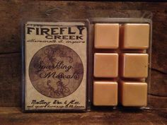 6oz. Large Aroma Bar- Melting Wax scented in Sparkling Moscato on Etsy, $5.00