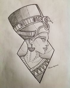 Finger Tattoos Temporary – Take Shelter Tattoos Pencil Art Drawings, Art Drawings Sketches, Tattoo Sketches, Tattoo Drawings, Cleopatra Tattoo, Nefertiti Tattoo, Kunst Tattoos, Body Art Tattoos, Sleeve Tattoos