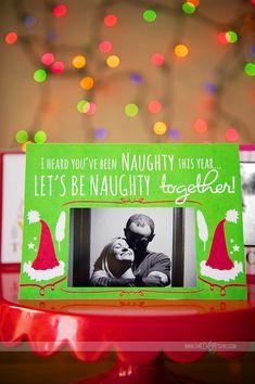 A FREE printable Christmas card for HIM!