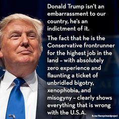 The real truth is that the enemies of the US hope that Trump becomes the Prez so that he can screw it all up!!!