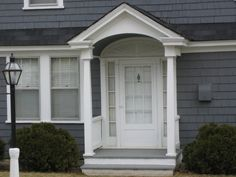 1000 Images About Front Door Portico Ideas On Pinterest