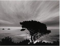 Bob Kolbrener Photography Moon/Stars/Clouds, CA, 2001 (Gelatin Silver Print)