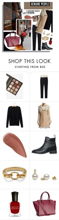 """Shop - Genuine People"" by melissa-de-souza ❤ liked on Polyvore featuring Sigma, Diane Von Furstenberg, Lipstick Queen, Topshop, Deborah Lippmann and genuinepeople"