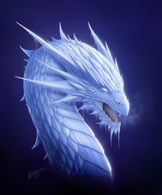 Image result for evil ice dragon