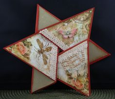 Scraps From A Broad: Star TriFold Birthday Card - video tutorial