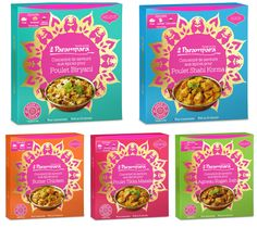 Packaging | Parampara, Delicious Indian Food <3