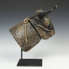 Bidjogo Dugn'be (Bull) Mask, Guinea-Bissau