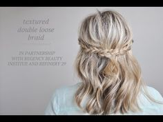 LOVE this look!!! Texture Hair Tutorial in partnership with Regency + Refinery 29