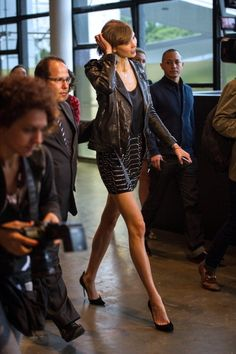 """""""I'm freakishly tall, so finding pants that fit is something I've struggled with my whole life."""" - Karlie Kloss"""