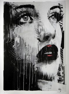 Kinda gutted I missed out on Rone's Silver Screen Dreams screen print... Damn you times sales