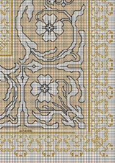 """Embroidery and embroider:Assisi bigger designs, working drawings """"lambs"""" Just Cross Stitch, Cross Stitch Borders, Cross Stitch Charts, Cross Stitch Designs, Cross Stitch Patterns, Embroidery Motifs, Cross Stitch Embroidery, Embroidery Designs, Blackwork"""