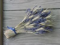 Wheat and lavender bouquet - I LOVE this! Great for a handfasting on one of the harvest festivals... lucky for me as that's what I'm planning!
