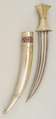 Dolch mit Scheide  Osmanisch. 16. Jahrhundert.