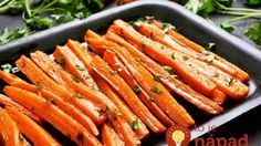 Bluff Cove Olive Oil Co.: Sweet and Spicy Carrots Oven Roasted Carrots, Carrot Fries, Comida Keto, Healthy Holiday Recipes, Holiday Foods, Curry Spices, Carrot Recipes, Side Dishes, Antipasto