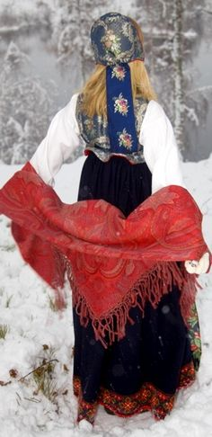 Traditional dress, Norway