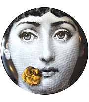 Fornasetti wall plate.