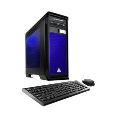 CybertronPC - Desktop - AMD FX-Series - 8GB Memory - AMD Radeon R7 360 - 1TB Hard Drive - Blue