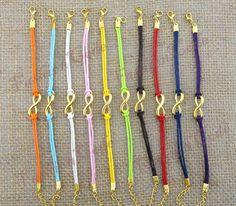 Infinity Wish BraceletAntique Golden Infinity by TheGiftoftheMagi