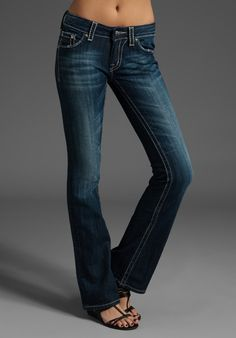 I love the look and color of these jeans.