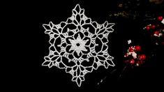 How to Crochet Snowflake #10