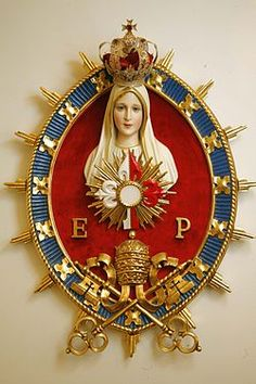 in termino maris Catholic Prayers, Catholic Art, Religious Art, Religious Icons, Jesus Mother, Blessed Mother Mary, Blessed Virgin Mary, Lady Of Lourdes, Lady Of Fatima