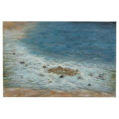 Cooper Classics Pebbled Beach Canvas Wall Art - 40818