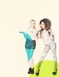 Perrie and Leigh