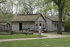 New Salem, Lincoln's home in Illinois from 1831 to 1837