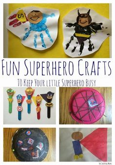 5 Superhero Crafts for Kids    The Chirping Moms