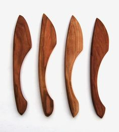 Cherry Wood Butter Spreaders /