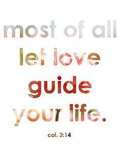GOD = LOVE