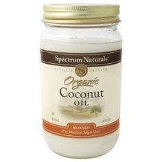 If you haven't used coconut oil in your household, then you are truly missing out!  There are so many ways to incorporate this natural product into your eating, cleaning, and body treatments, that you will be running to the store to find it!!
