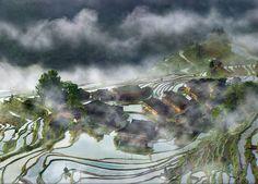Casa na Vila da Névoa, China