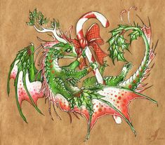New Year dragon by AlviaAlcedo.deviantart.com on @DeviantArt