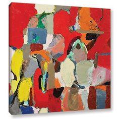 "Mercury Row Postal Sunrise Framed Painting Print on Wrapped Canvas Size: 18"" H x 18"" W x 2"" D"