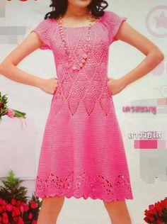 ◇◆◇ Crochetemoda: Vestidos
