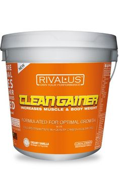 shake to gain muscle workout shake to gain muscle vanilla Rivalus - Clean Gainer Protein Blend, Best Protein, Healthy Protein, Muscle Protein, Muscle Body, Muscle Fitness, Gain Muscle, Protein Supplements, Nutritional Supplements