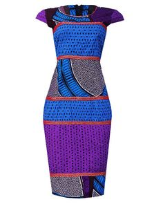 African print Lace dress by CoCoCremeCouturier on Etsy ~Latest African fashion, Ankara, kitenge, African women dresses, African prints, African men's fashion, Nigerian style, Ghanaian fashion ~DKK