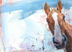 James Bartholomew 'Horse on blue'