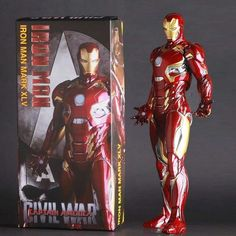 Crazy Toys Marvel Avengers Iron Man Mark Mk 45 Action Figure Doll Statue Model: $40.00 End Date: Sunday May-13-2018 2:44:27 PDT Buy It Now…