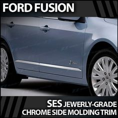 2006-2011 Ford Fusion SES Chrome Door Molding Trim This Part Perfectly Fits: 2006-2011 Ford Fusion. Proudly made and produced in the USA. Factory-Grade 304 Super#8 Stainless Steel Material. Simple peel & stick installation with no cutting or drilling in any way. Ships within one business day!.  #Upgrade_Your_Auto #Automotive_Parts_and_Accessories