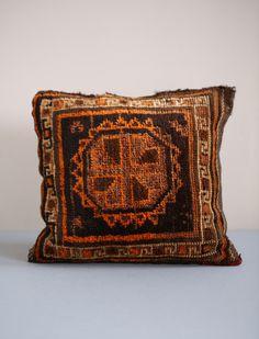 Vintage Afghan Cushion #athomewithSA