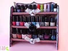 SBDEspositore porta smalti - Nail polishes Expositorby SweetBioDesign