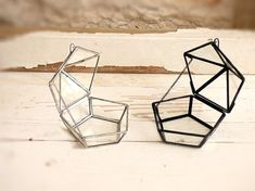Wedding Ring Box. Shabby Chic Style Mini Geometric by HaloneyRakia