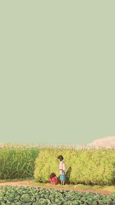 Studio Ghibli Films, Art Studio Ghibli, Studio Art, Studio Ghibli Quotes, Wallpaper Animé, Anime Scenery Wallpaper, Drawing Wallpaper, Trendy Wallpaper, Kawaii Wallpaper