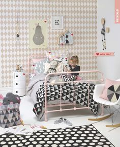 Kids' Rooms Handi Scandi styled by Vanessa Nowens. Photo by Mel Jenkins. Your Home and Garden July 2014
