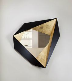 Be Amazed by these Thoroughly Geometric Wall Mirror Designs